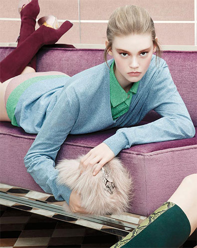 What's So Inspiring About a 15-Year-Old Model?