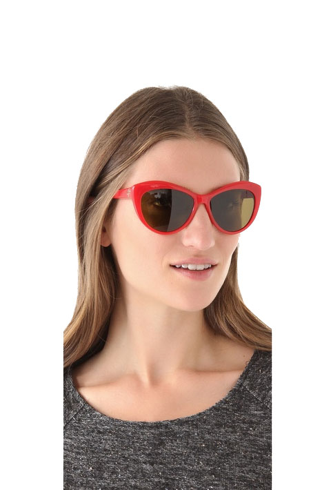6. Invest in some cool, oversized cat eye sunglasses.