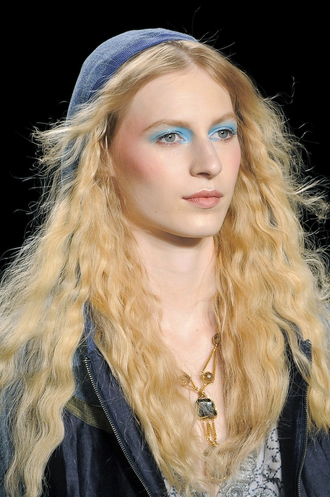 Blue Beauty at Anna Sui