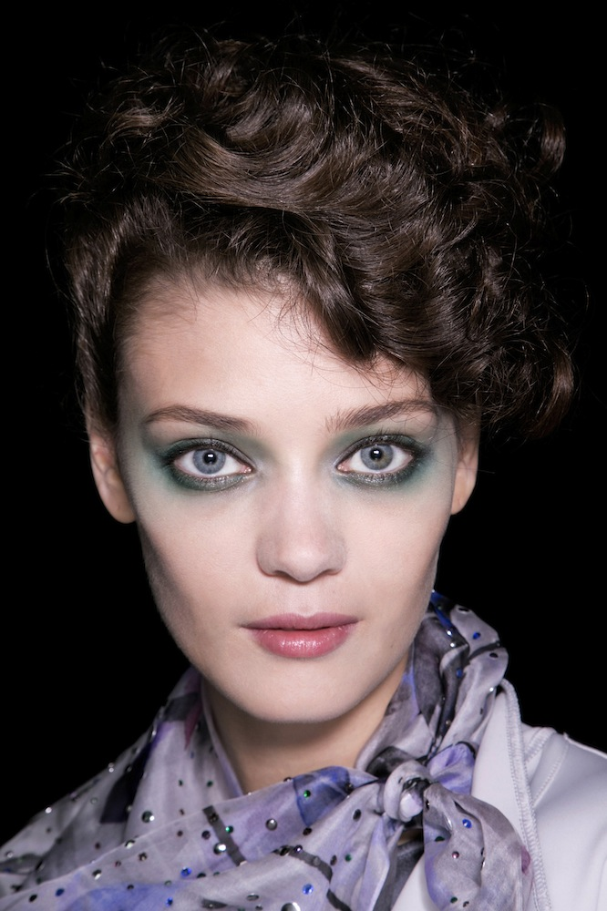 Blue Beauty at Giorgio Armani