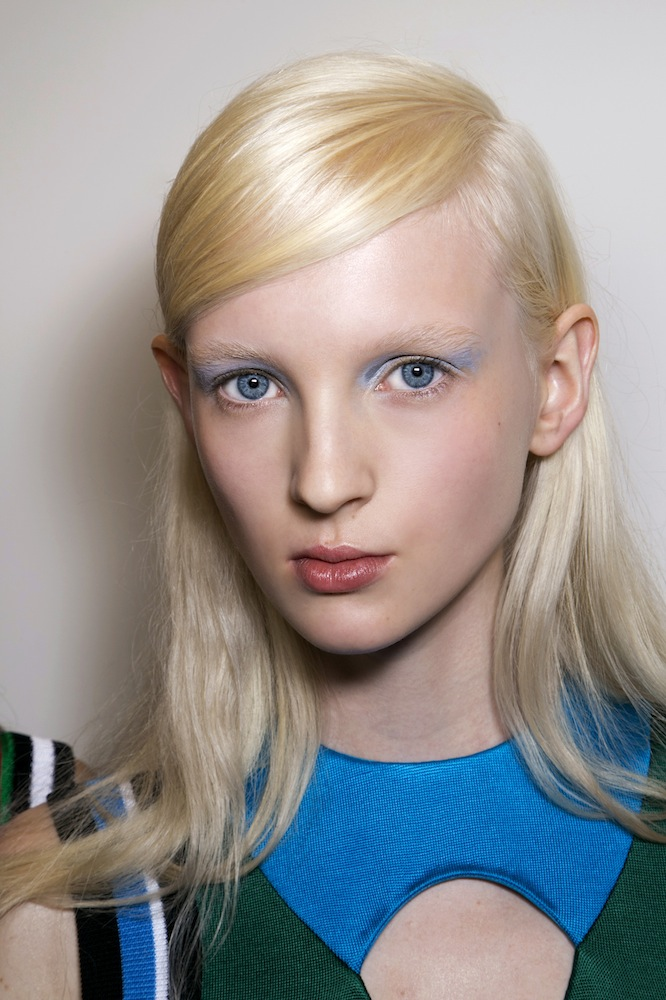 Blue Beauty at Prada