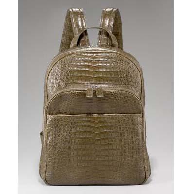 Crocodile Backpack by Santiago Gonzalez