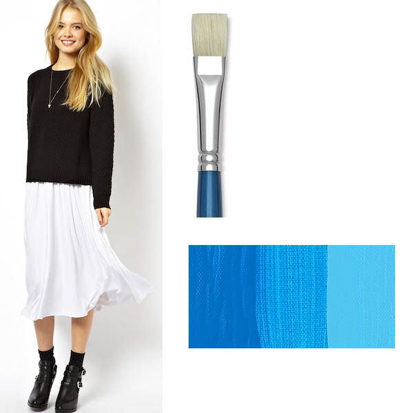 Viv Westwood Skirt, DIYed