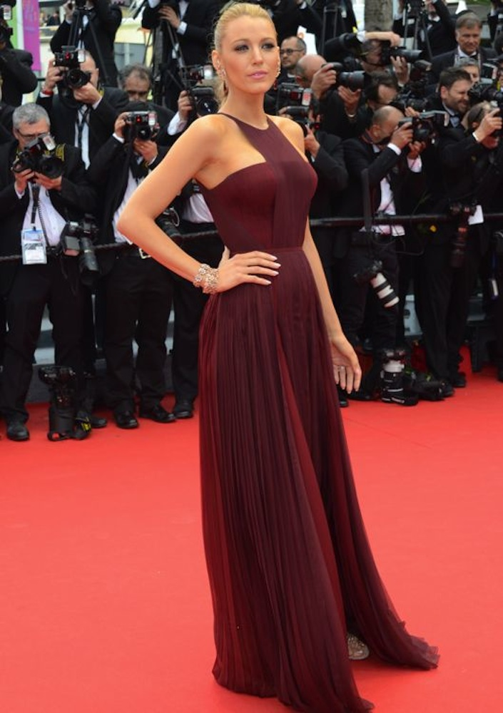 Blake Lively at the Opening Ceremony and Premiere of Grace of Monaco