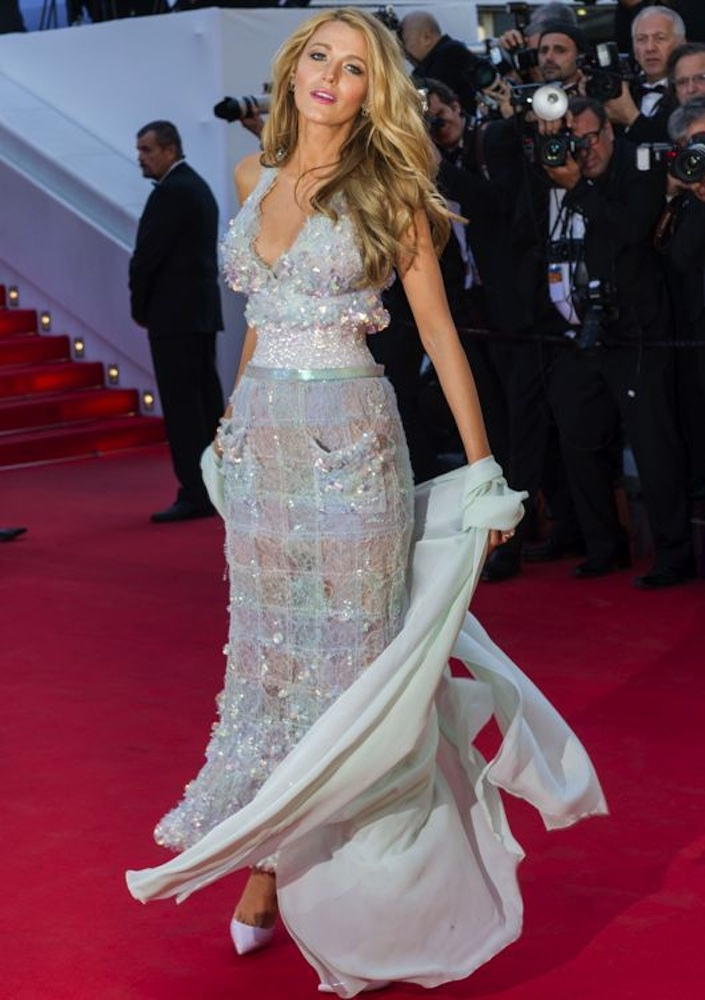 Blake Lively at the Premiere of Mr. Turner