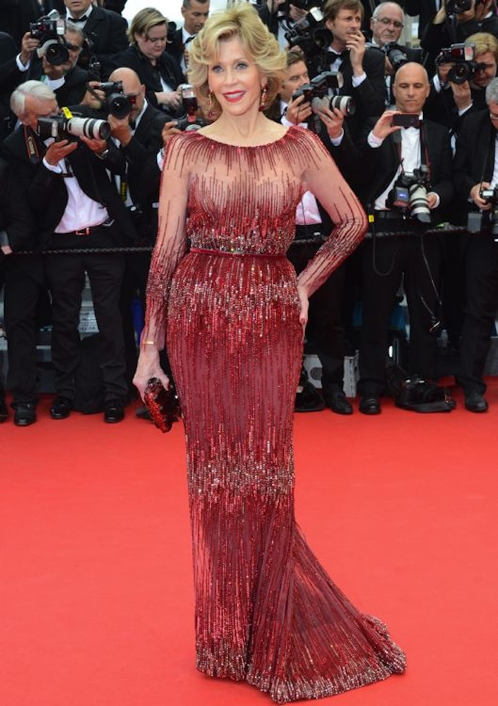 Jane Fonda at the Opening Ceremony and Premiere of Grace of Monaco