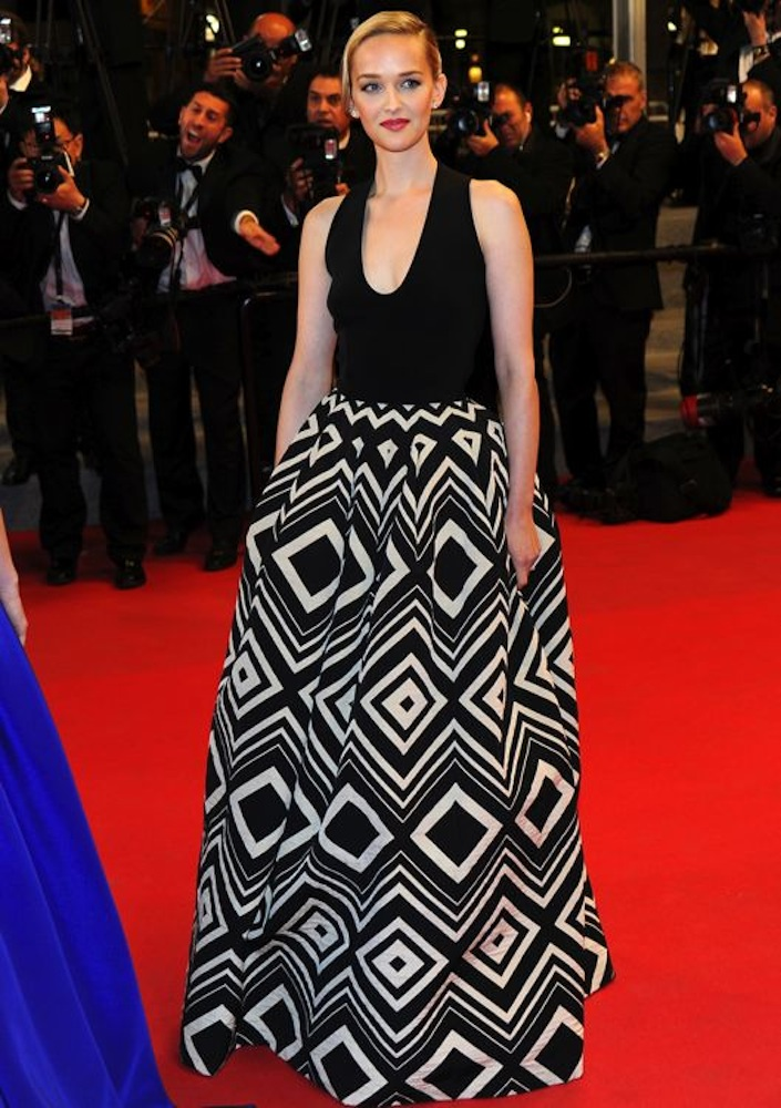 Jess Weixler at the Premiere of The Disappearance of Eleanor Rigby