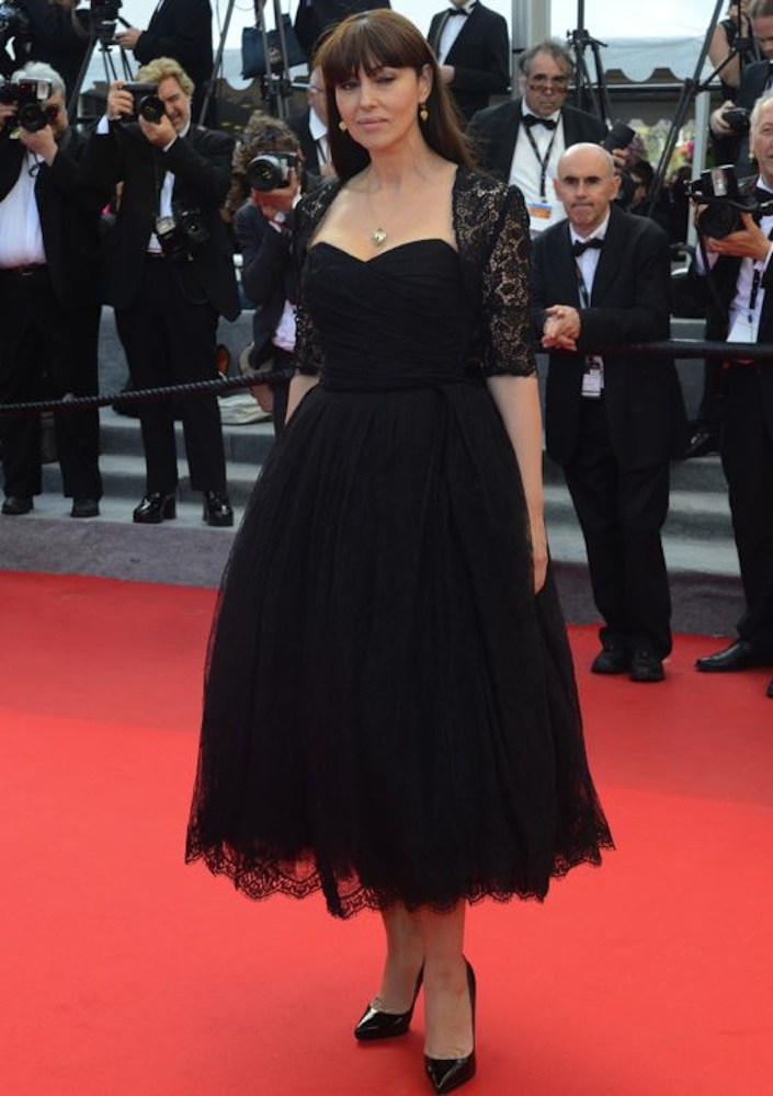 Monica Bellucci at the Premiere of The Wonders