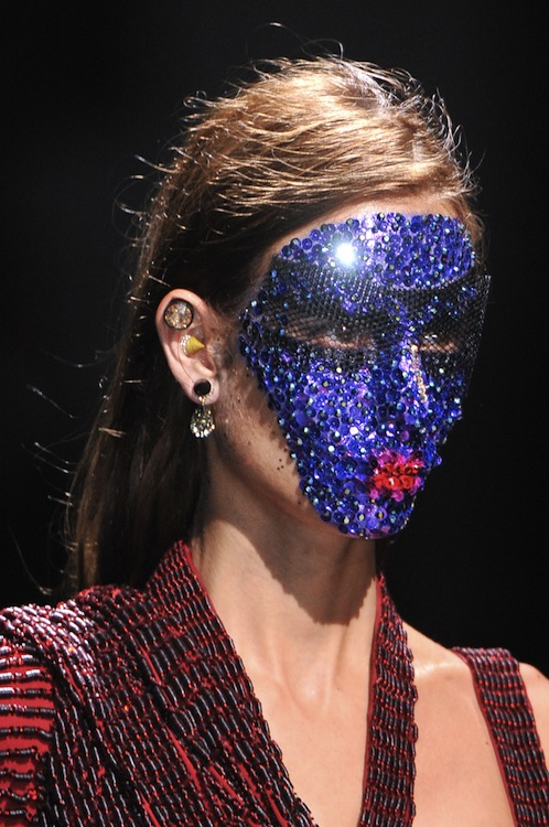 Givenchy Bedazzles Models