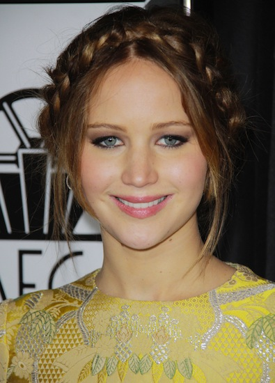 Jennifer Lawrence's Princess Leia Moment