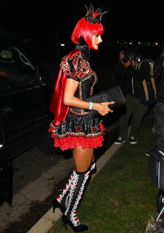 Alessandra Ambrosio at the 2013 Casamigos Halloween Party