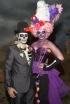 Jason Priestley and Naomi Priestley at MAC Cosmetics and Rick Baker's Monster Mash