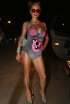 Paris Hilton at the Playboy Mansion Halloween Party