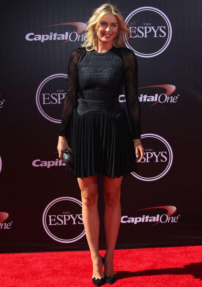 Maria Sharapova at the 2014 ESPY Awards