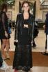 Emma Watson at the Valentino Presentation During Paris Haute Couture Fashion Week