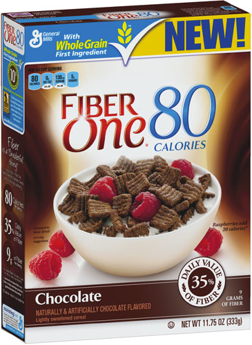 Fiber One 80 Calories Chocolate Cereal