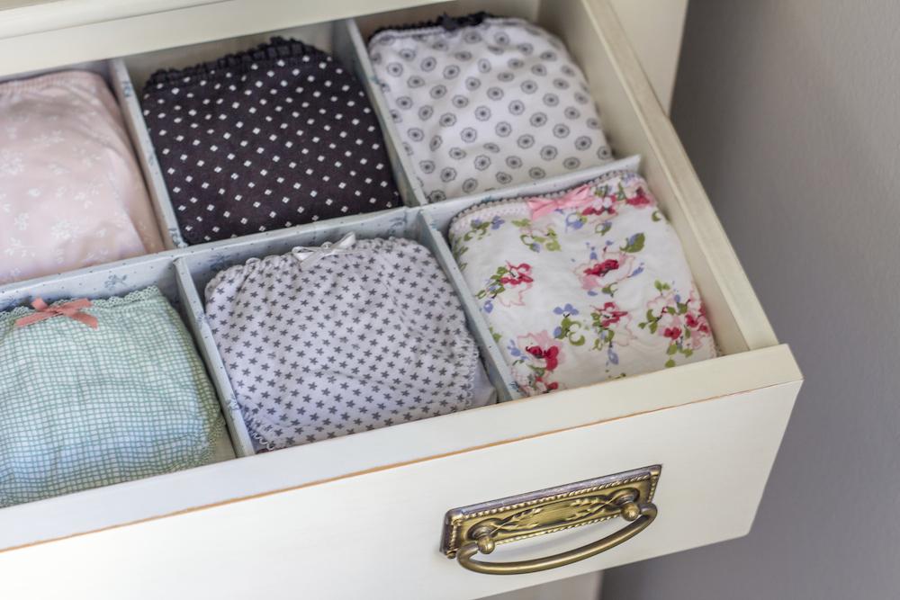 Organize Your Underwear Drawer