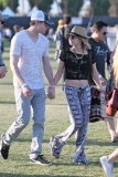 Emma Roberts and Chord Overstreet Day 2