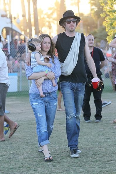 Alicia Silverstone, Christopher Jarecki and Bear Blu Day 2
