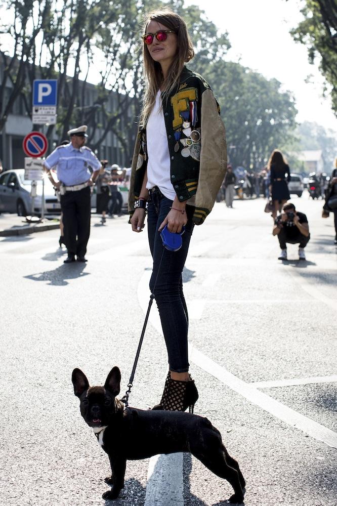 Milan SS 14 Street Style