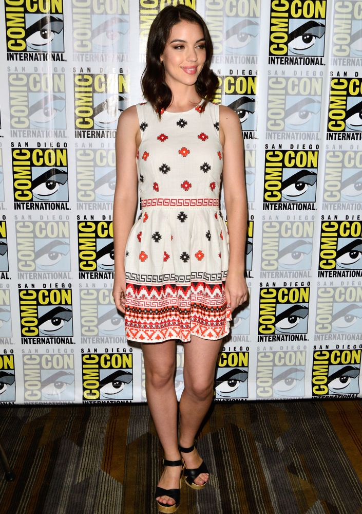 Adelaide Kane at the CBS Television Studios' Series Press Lines