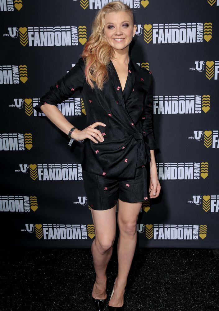 Natalie Dormer at the mtvU Fandom Awards