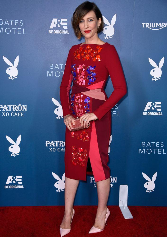 Vera Farmiga at the Playboy and A&E Bates Motel Event