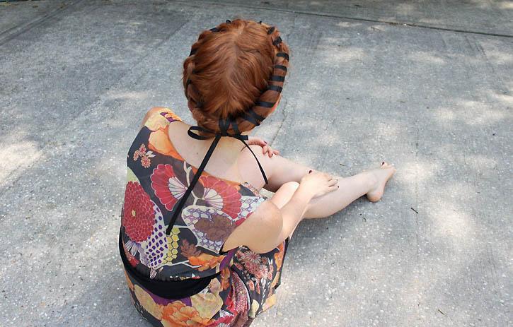 Renaissance Hair Taping Tutorial
