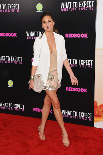 Chrissy Teigen in All Saints