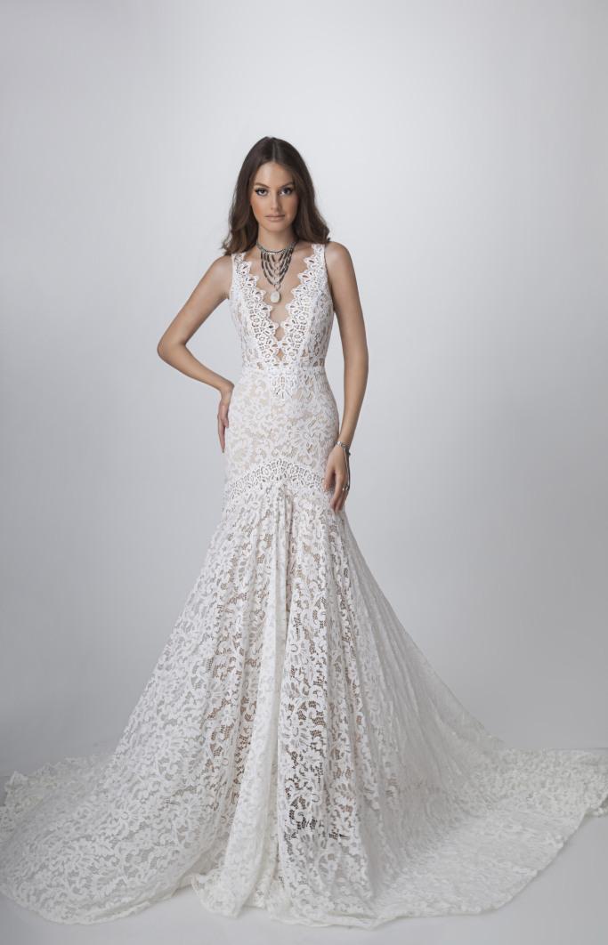 53 dream wedding dresses from fall 2018 bridal fashion week sundance by rish bridal fall 2018 junglespirit Image collections