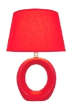 Lite Source Kito Red Table Lamp
