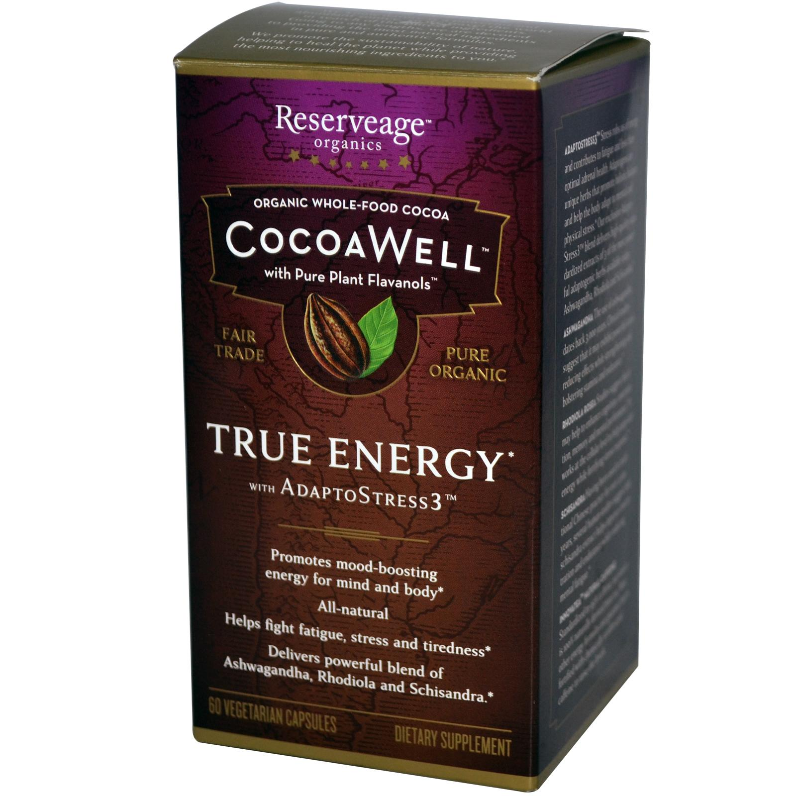 CocoaWell True Energy with AdaptoStress3