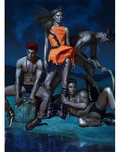 Versace 's Trio of Goddesses