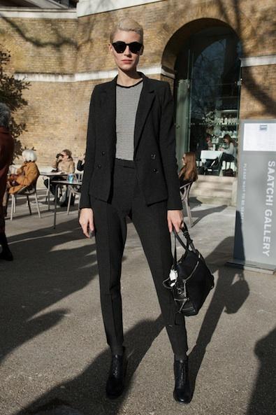 Menswear-Inspired Stripes