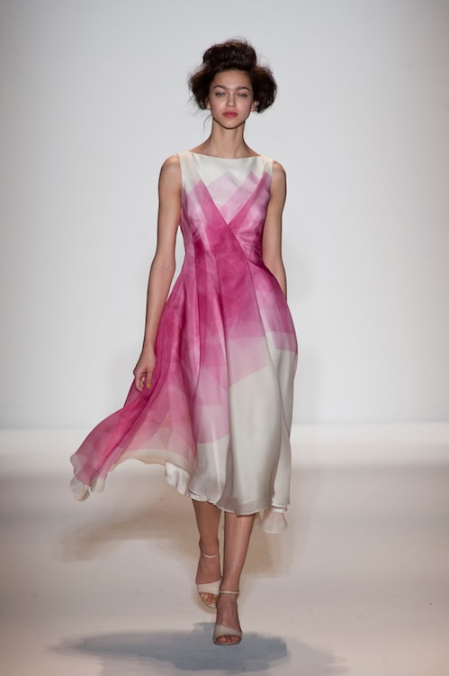 Pink Saturation: Lela Rose