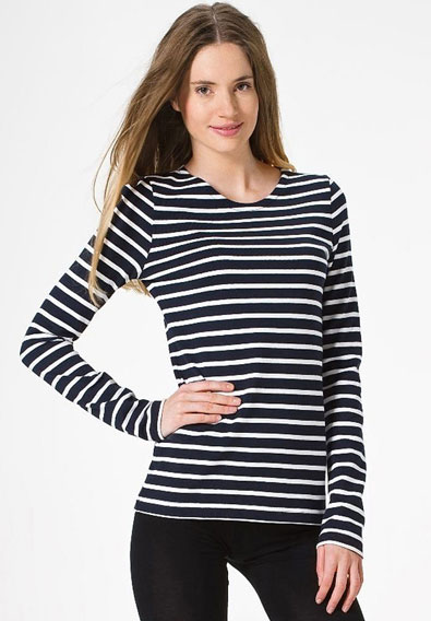 A Striped Top