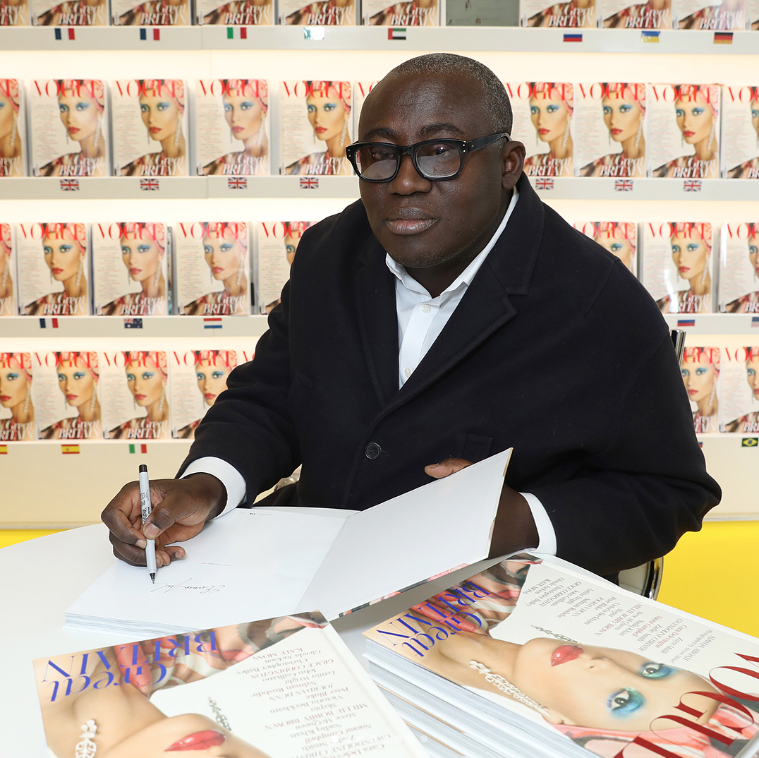 Edward Enninful Announced as the New Editor-In-Chief of British 'Vogue'