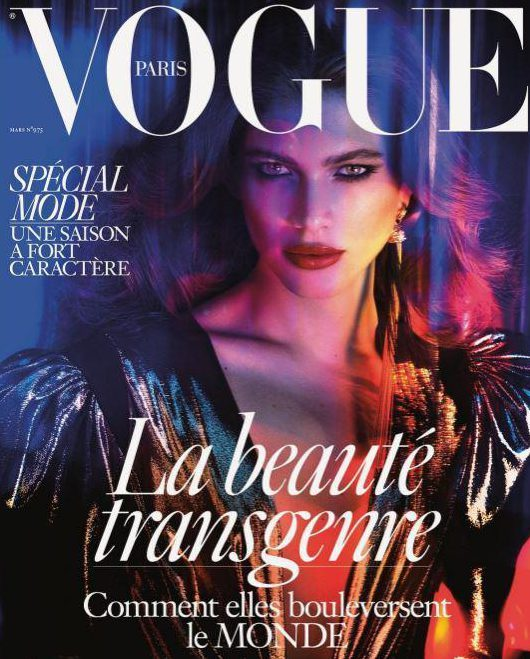 March's French 'Vogue' Featured Its First Out Transgender Cover Star