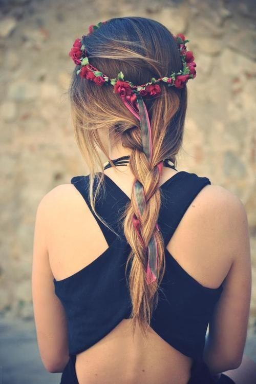 Ribbon-Woven Braid