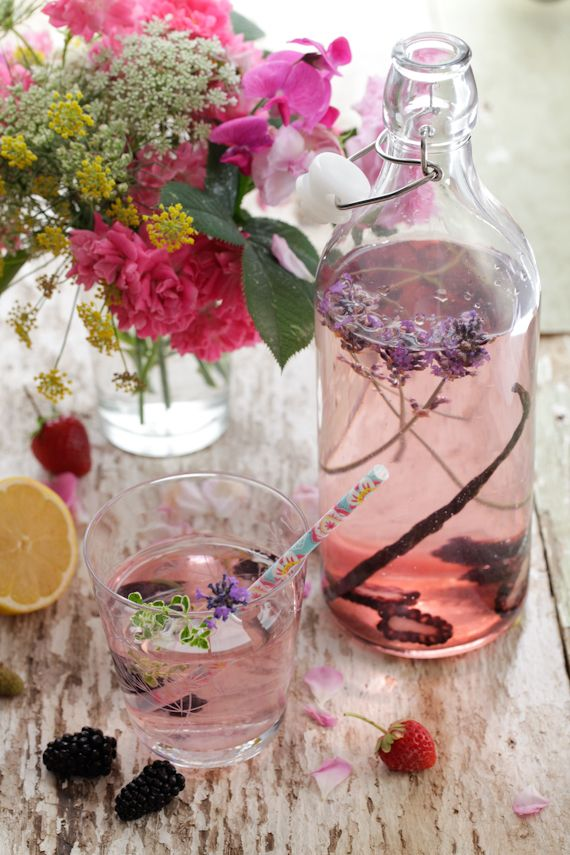 Blackberry, Vanilla and Lavender Water