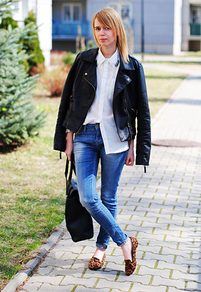 Forum Street Style: Bloo90fashion Blogger Johanna Shares Some Simple Chic Looks