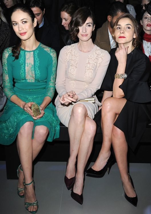 Olga Kurylenko, Paz Vega and Clotilde Courau