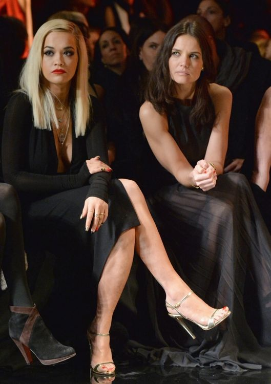 Rita Ora and Katie Holmes