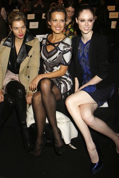 Petra Nemcova, Jessica Hart and Coco Rocha