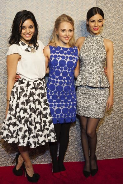 Vanessa Hudgens, AnnaSophia Robb and Victoria Justice