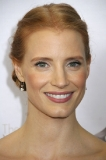 Jessica Chastain's Au Naturel Fresh Face