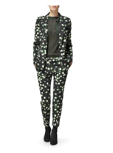 Jaeger Kitty Rosebud Suit
