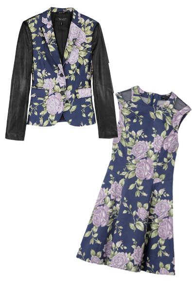 Rag & Bone Floral Suit