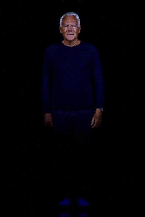 Giorgio Armani SS 2014