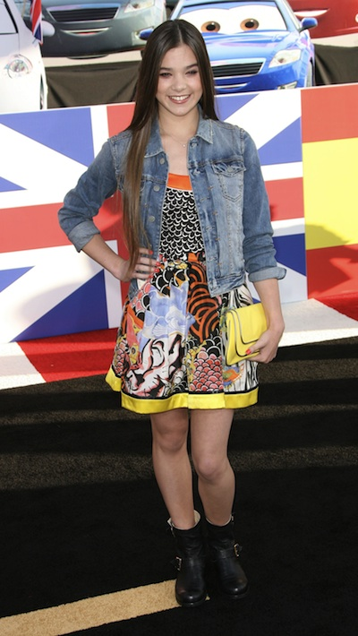 Hailee Steinfeld at the Cars 2 Premiere